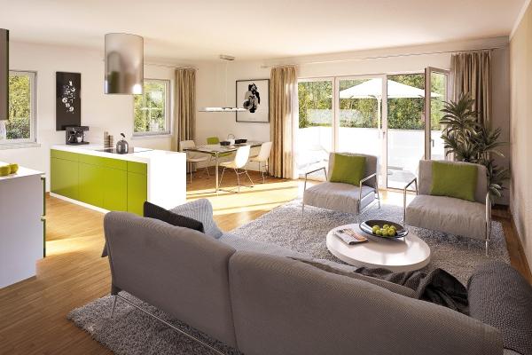 wohnungen und ansichten bach terrassen. Black Bedroom Furniture Sets. Home Design Ideas